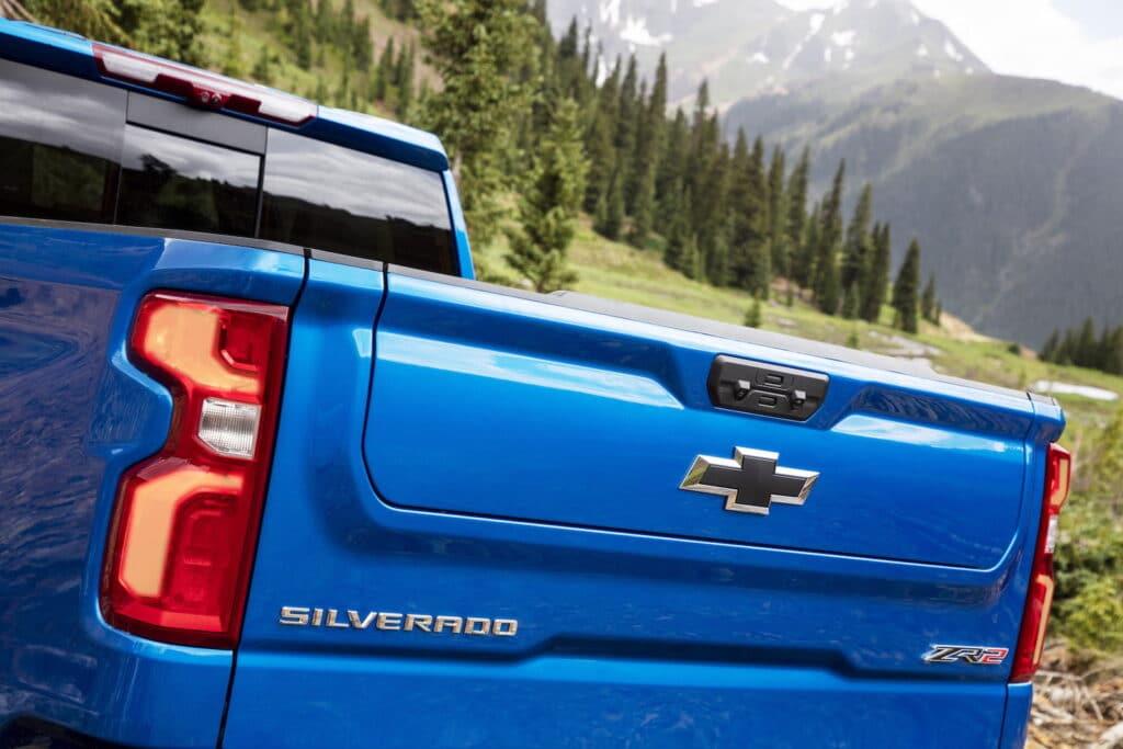 2022 Chevrolet Silverado ZR2 tailgate