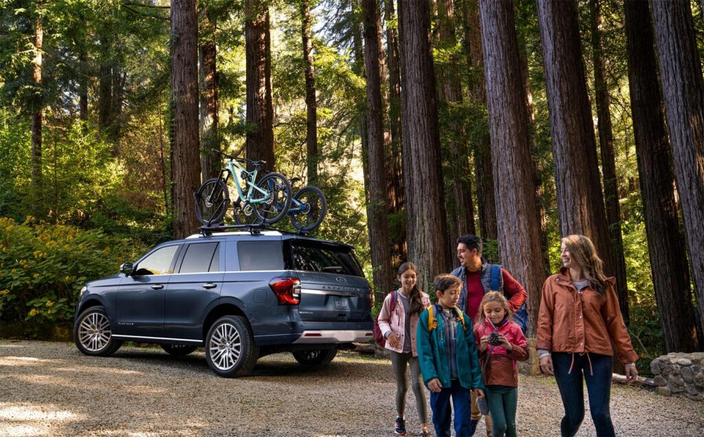 2022 Ford Expedition - rear 3-4 camping