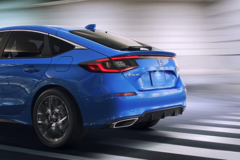 2022 Honda Civic Hatchback close rear