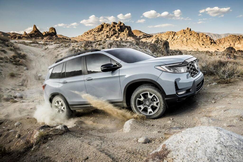 2022 Honda Passport TrailSport - off-roading