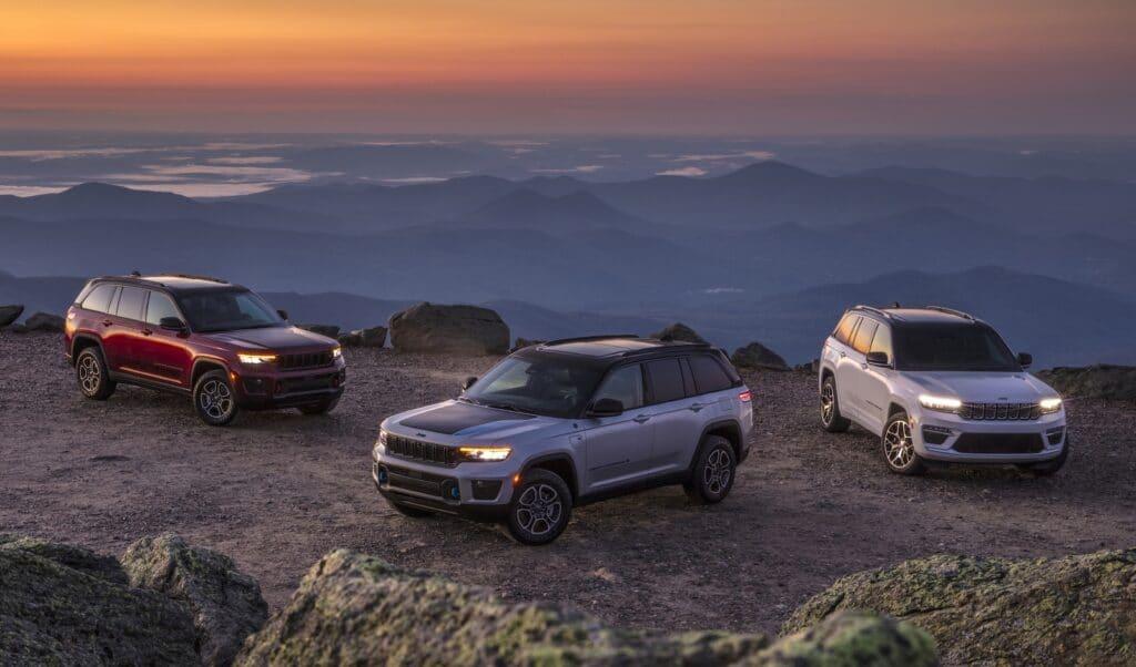 2022 Jeep Grand Cherokee trio