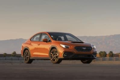 2022 Subaru WRX best orange