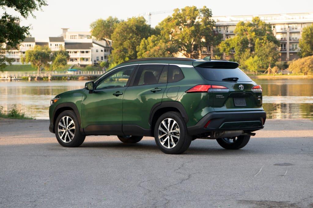 2022 Toyota Corolla Cross XLE Cypress rear