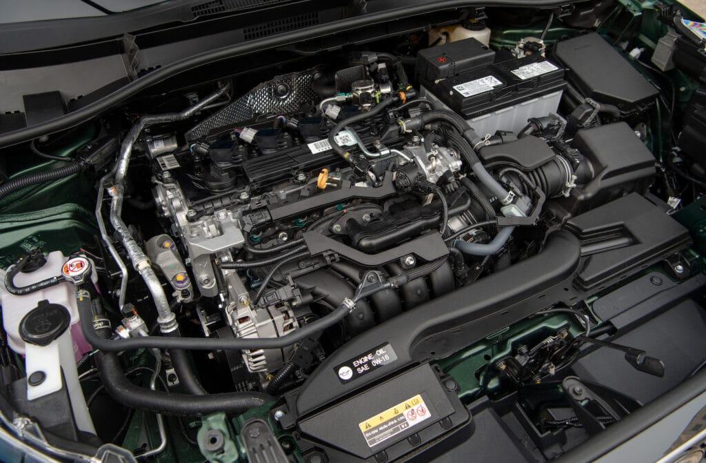 2022 Toyota Corolla Cross XLE engine