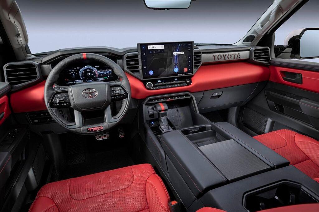 2022 Toyota Tundra - interior