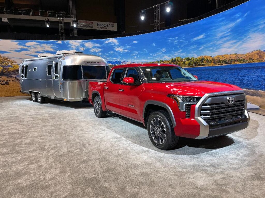 2022 Toyota Tundra - towing