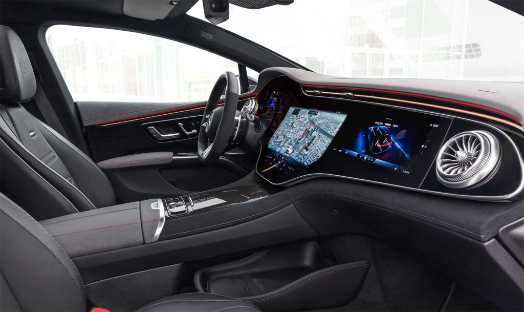 2023 Mercedes-AMG EQS - interior
