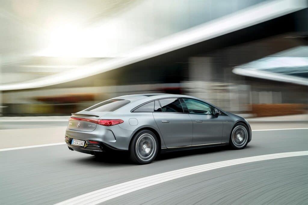 2023 Mercedes-AMG EQS - rear 3-4