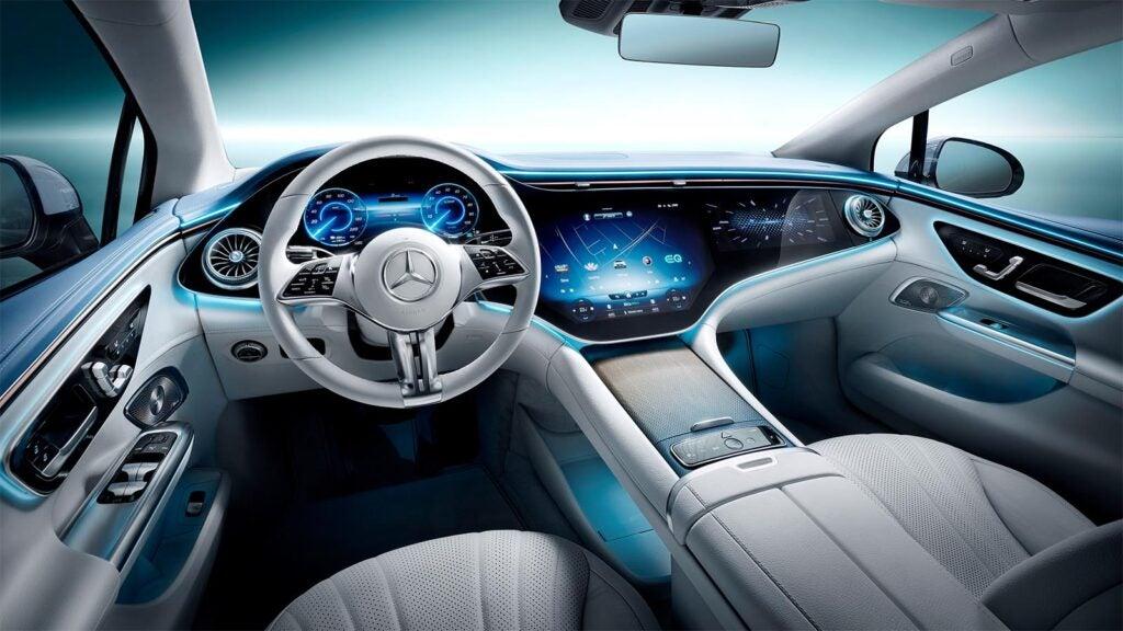 2023 Mercedes EQE 350 - interior