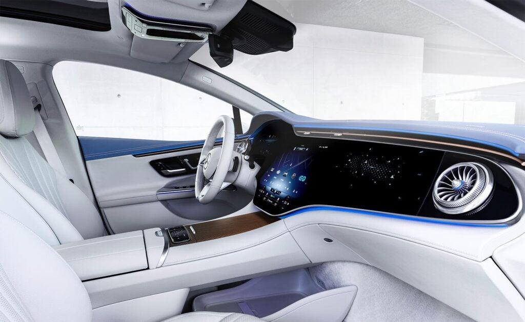 2023 Mercedes EQE 350 - interior v2