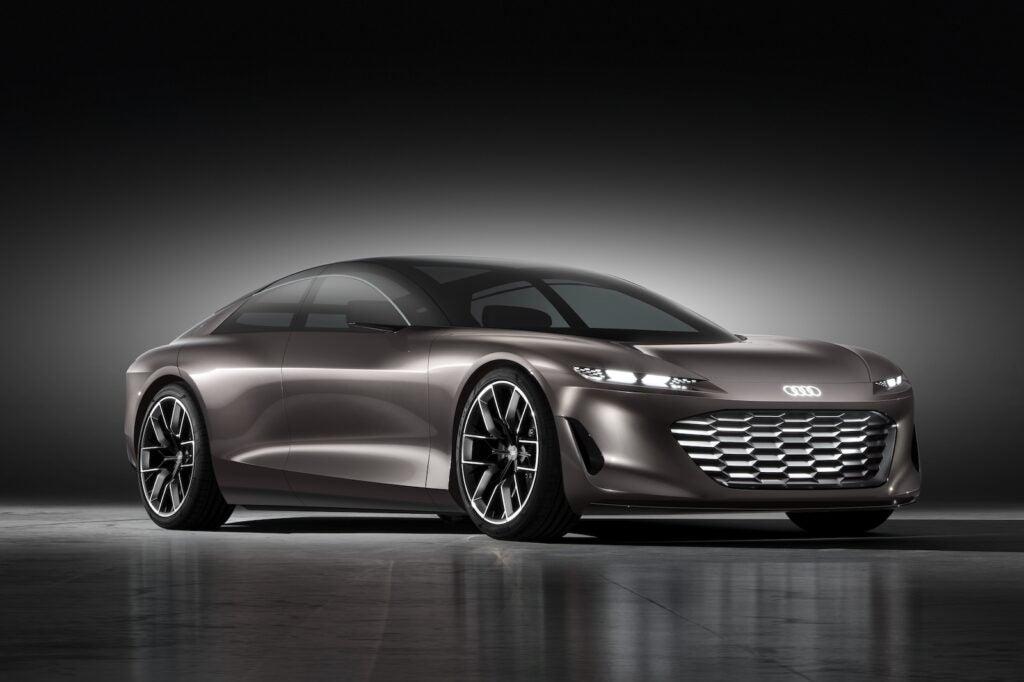 Audi Grandsphere concept front