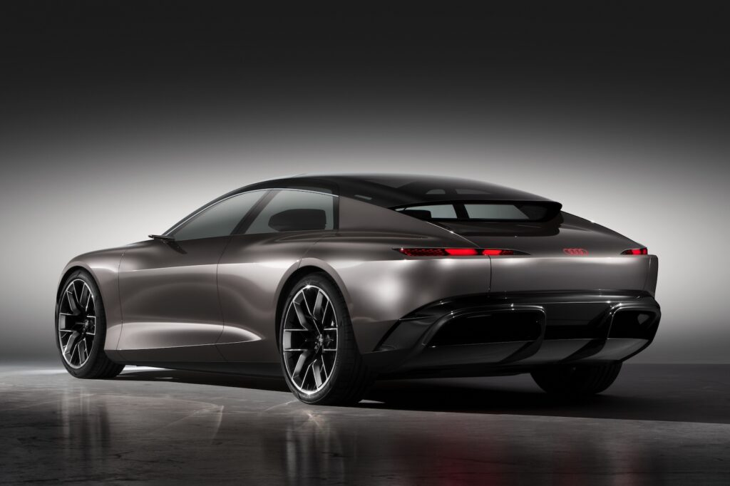 Audi Grandsphere concept rear