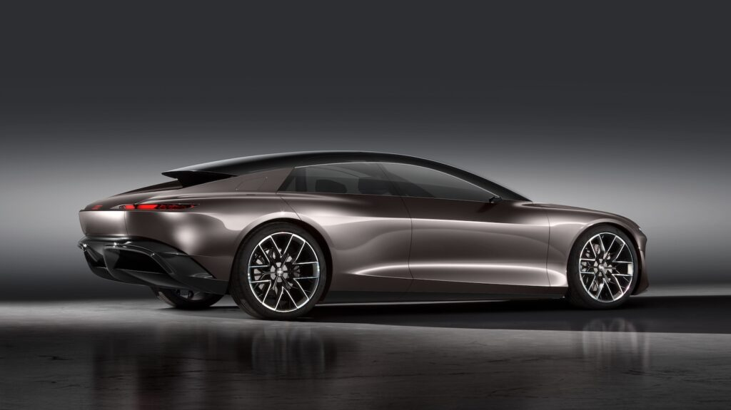 Audi Grandsphere concept side