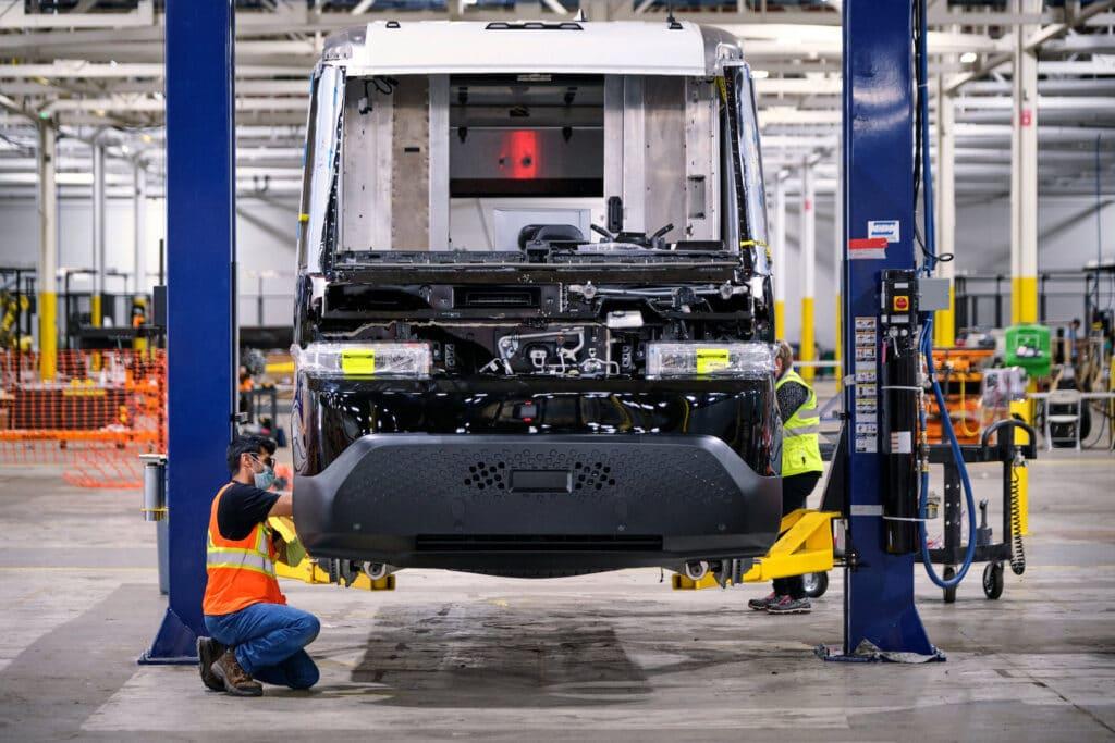 BrightDrop EV600 production station