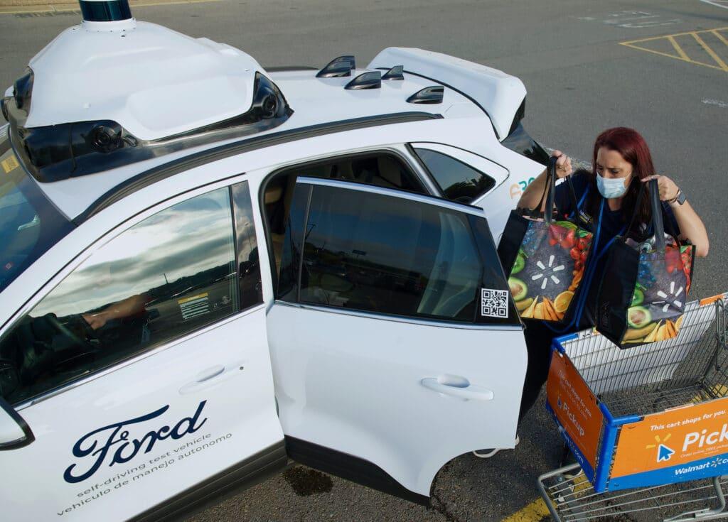 Ford, Argo AI, and Walmart