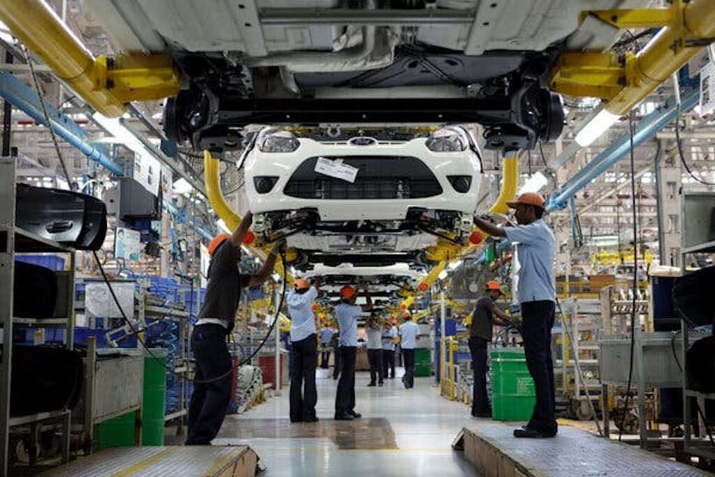 Ford Chennai production line
