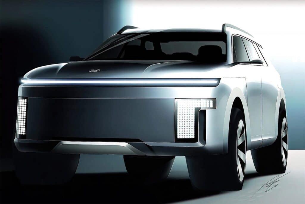 Hyundai Ioniq 7 - possible rendering