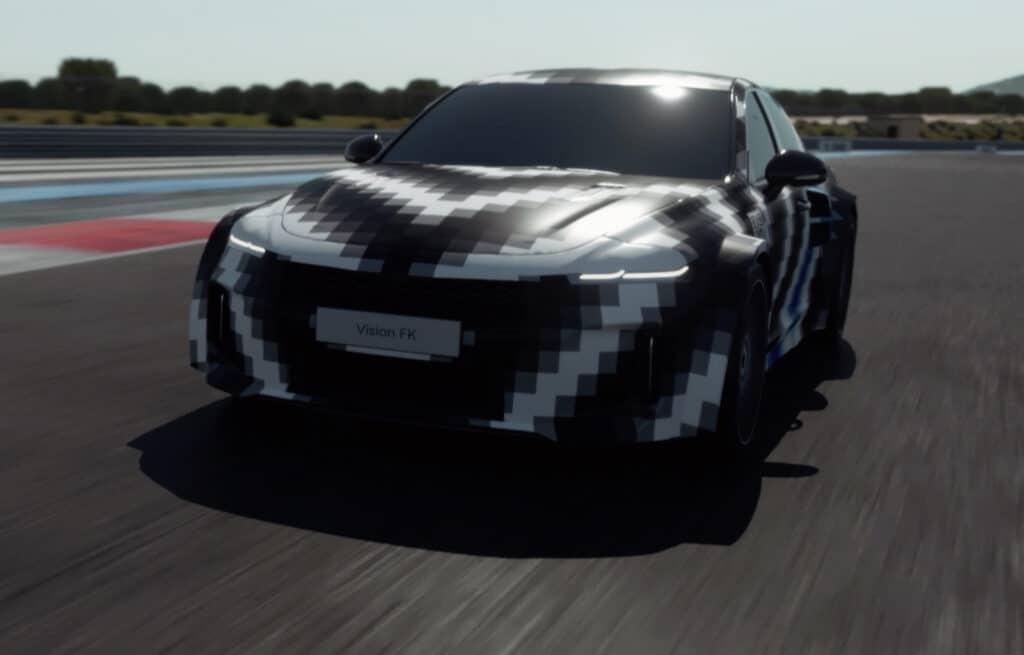 Hyundai Vision FK hydrogen sports car concept