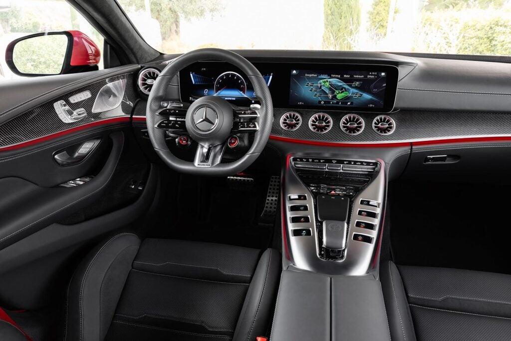 Mercedes-AMG GT 63 S E Performance - interior