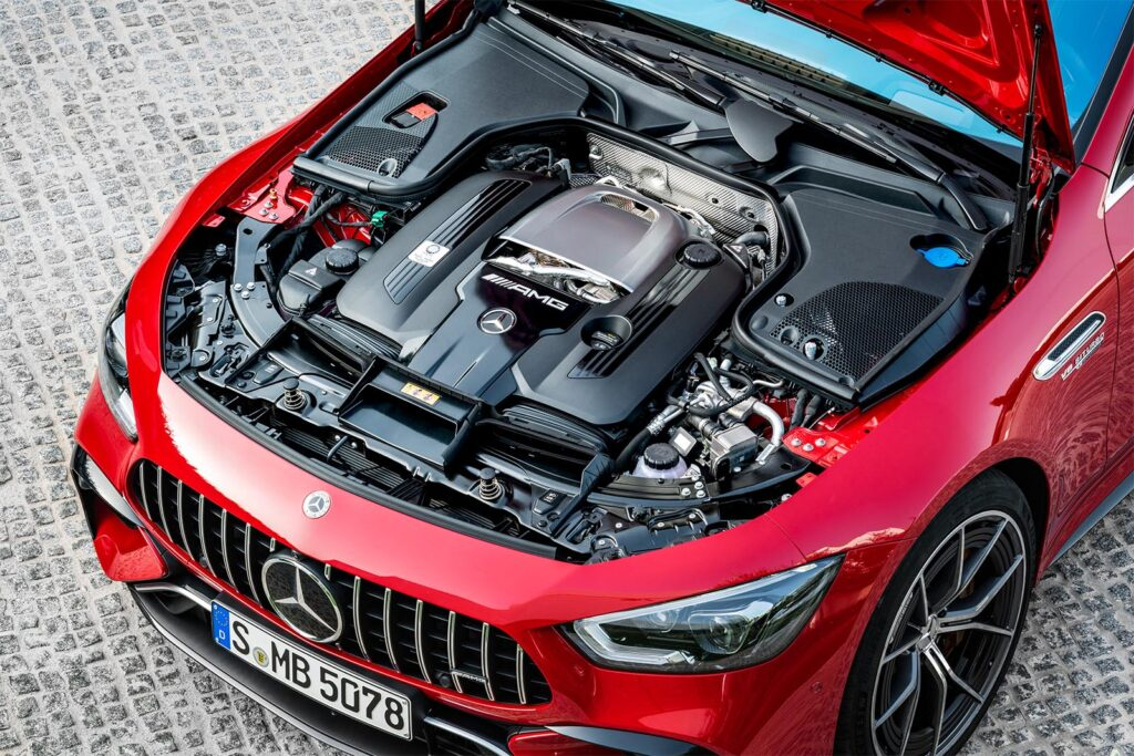 Mercedes-AMG GT 63 S E Performance - powertrain