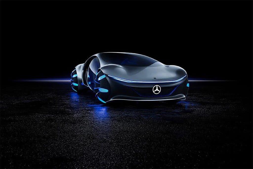 The Mercedes-Benz Vision AVTR