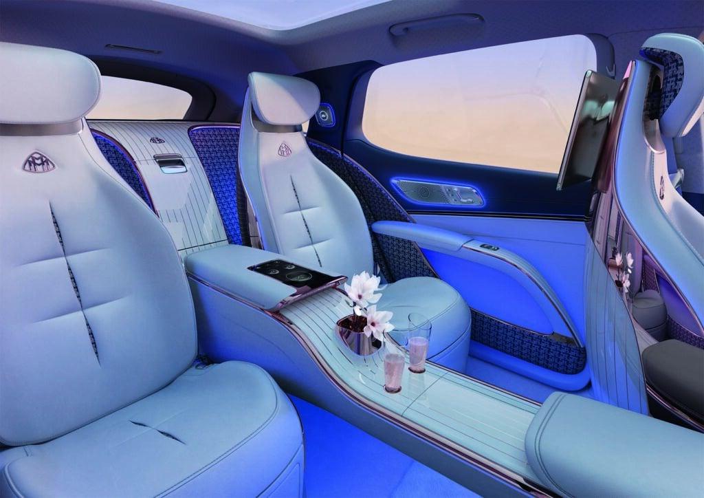 Mercedes-Maybach Concept EQS - interior