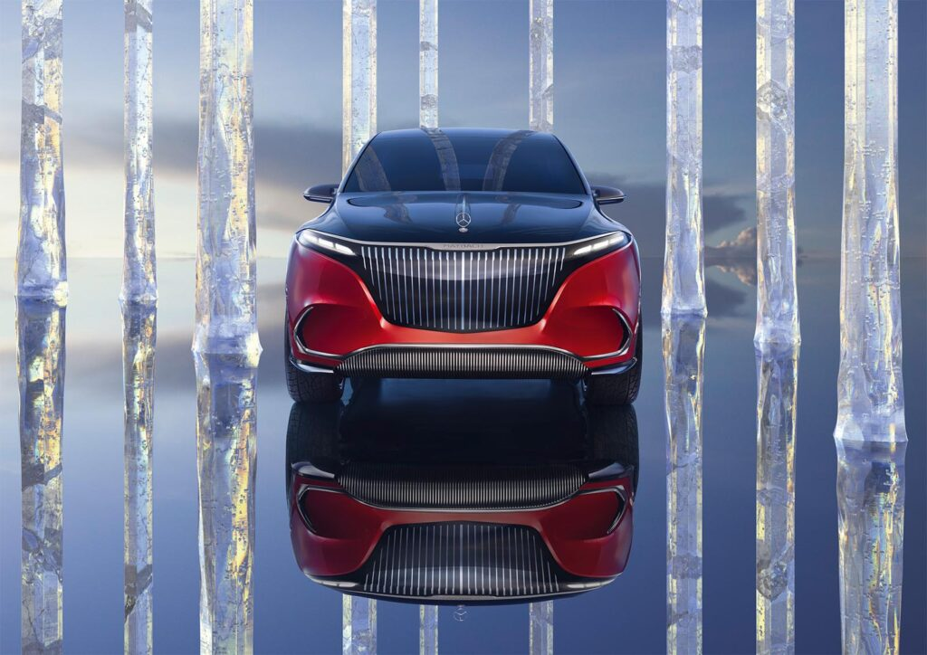 Mercedes-Maybach Concept EQS - nose