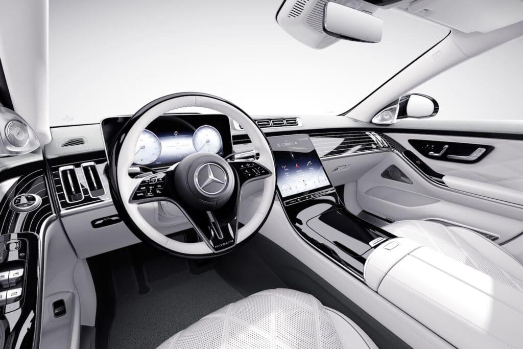 Mercedes-Maybach Edition 100 cockpit