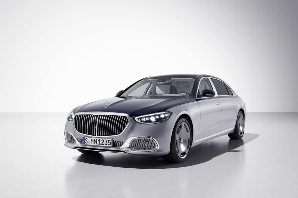 Mercedes-Maybach Edition 100 front