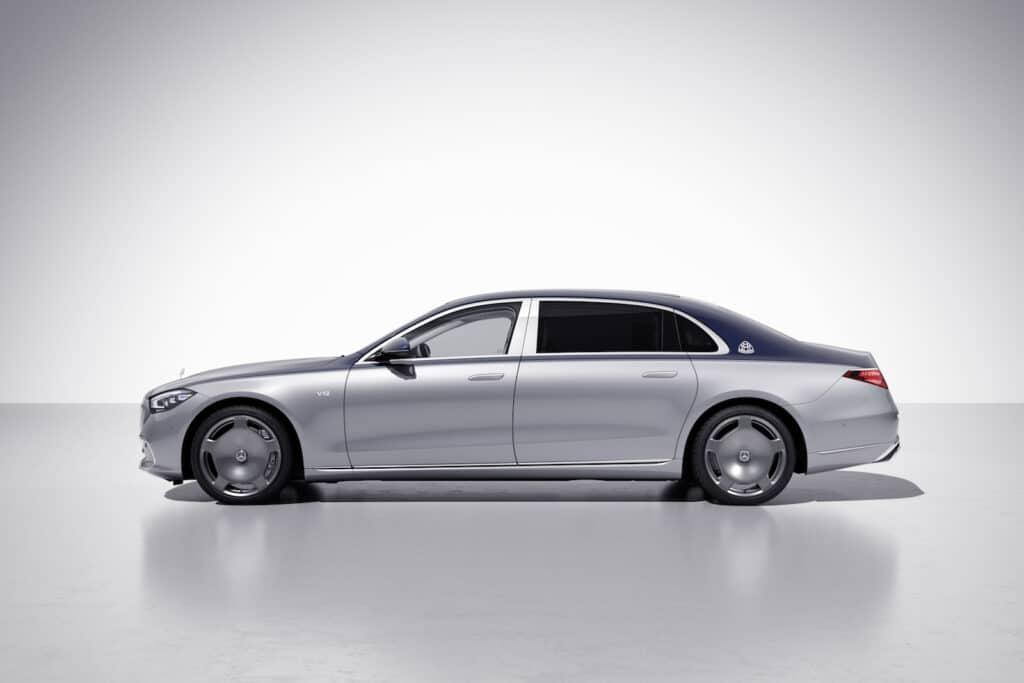 Mercedes-Maybach Edition 100 side