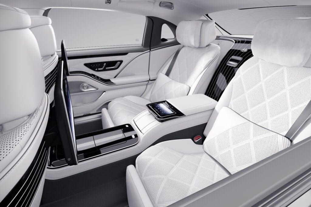 Mercedes-Maybach Edition 100 rear seat