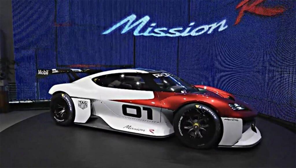 Porsche Mission R - front 3-4