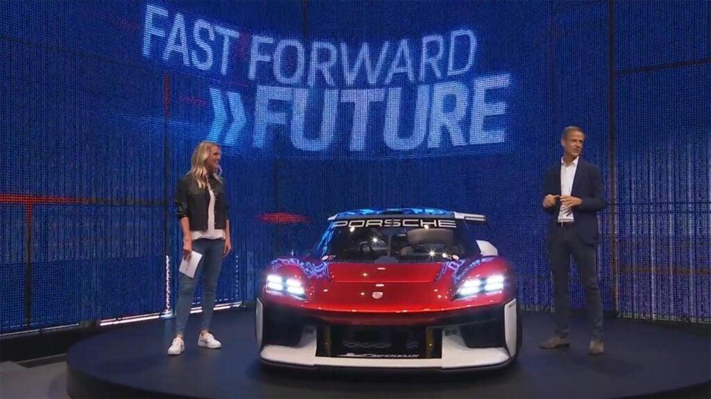Porsche Mission R - with Oliver Blume