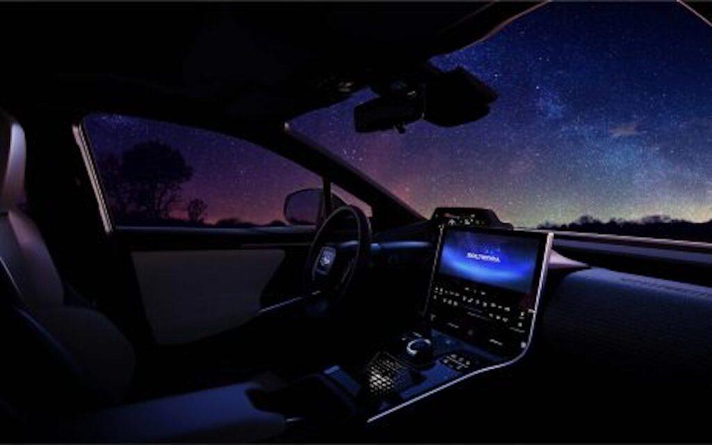 Subaru Solterra cockpit
