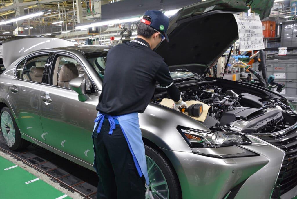 Toyota Motomachi Japan plant