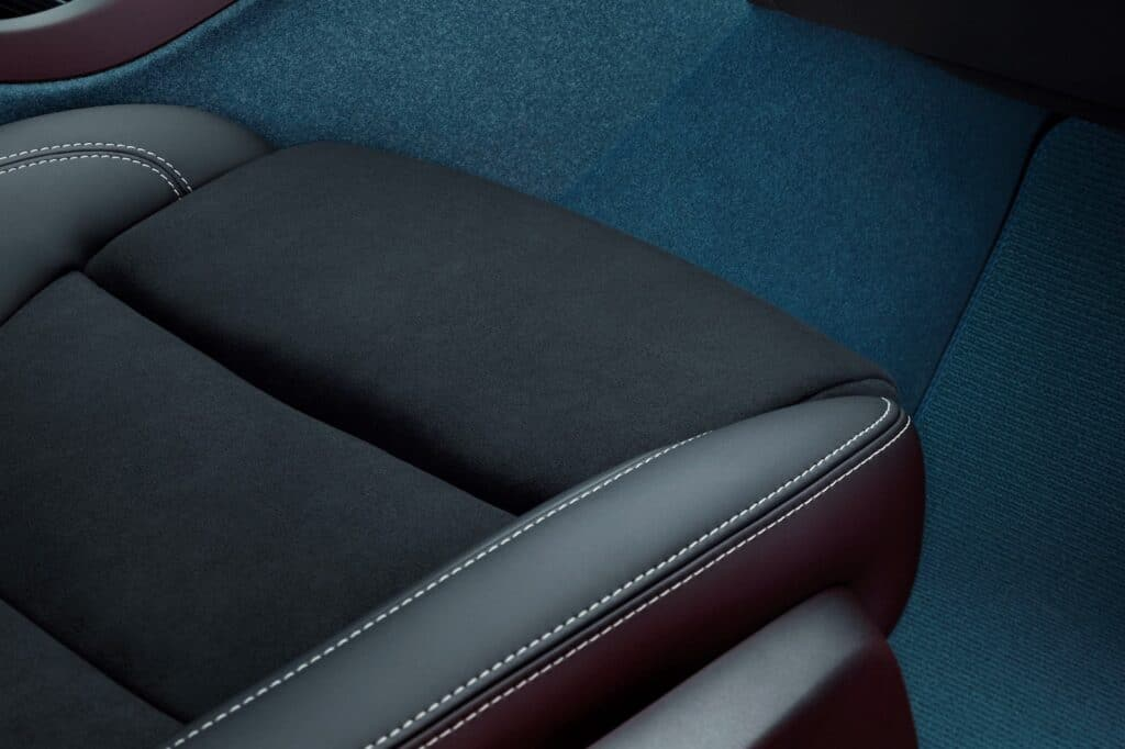 Volvo C40 Recharge non-leather seats