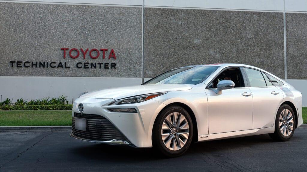 2021 Toyota Mirai Guiness-Rekord