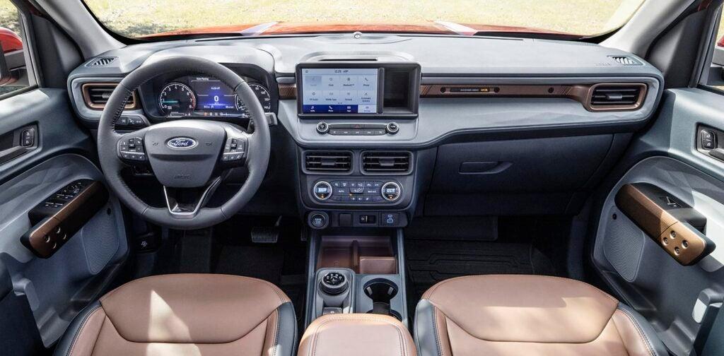 2022 Ford Maverick - Lariat interior