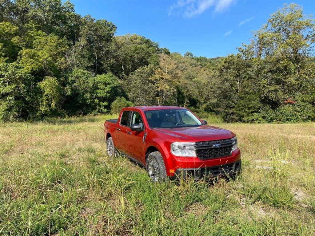 2022 Ford Maverick - in grass