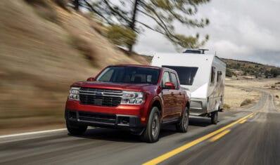 2022 Ford Maverick - towing RV