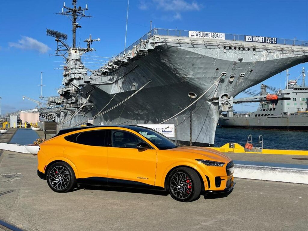 2022 Ford Mustang Mach-E GT Performance Pack - front 3-4 by Hornet