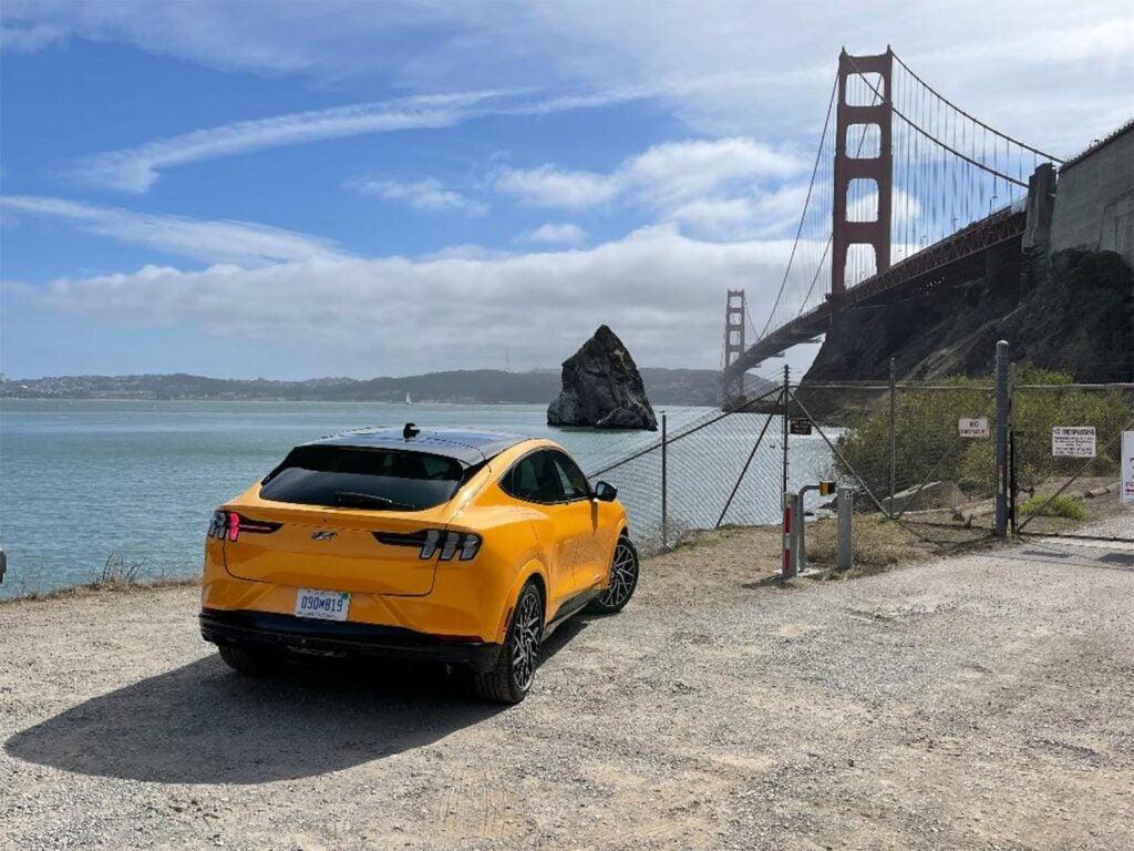 2022 Ford Mustang Mach-E GT Performance Pack - rear 3-4 Bridge