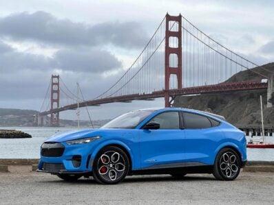 2022 Ford Mustang Mach-E GT - by Golden Gatebridge