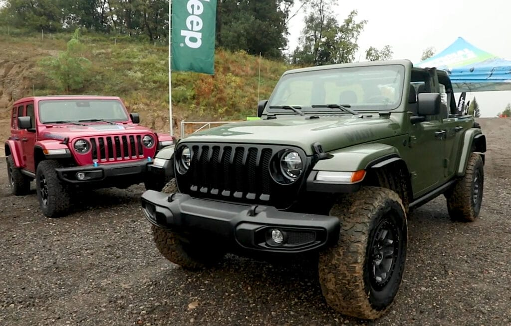 2022 Jeep Willys Wrangler grille