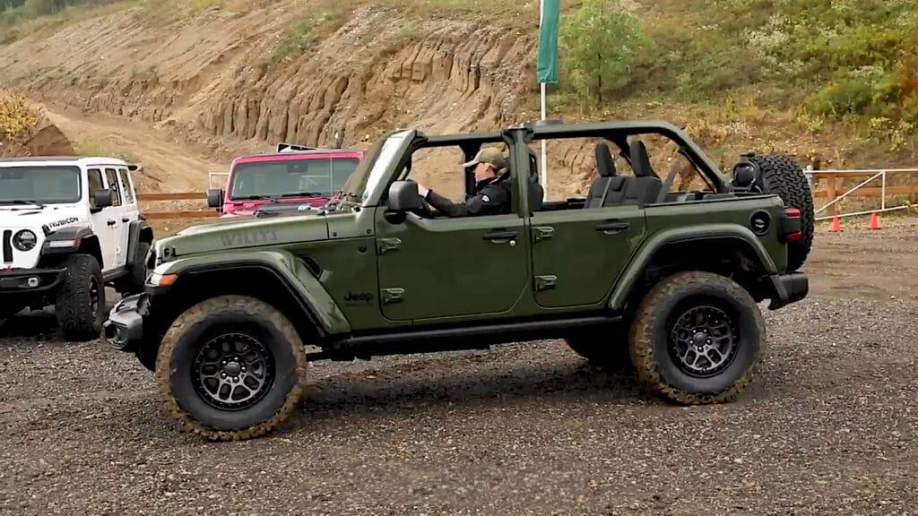 2022 Jeep Willys Wrangler side