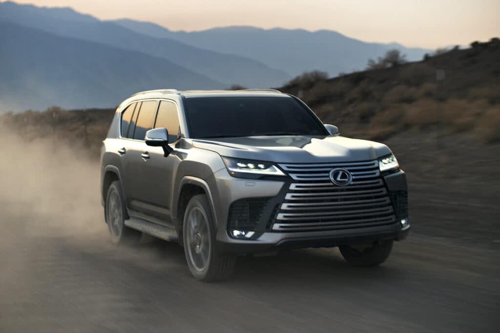 2022 Lexus LX 600 driving front