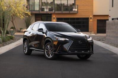 2022 Lexus NX 350 Caviar front