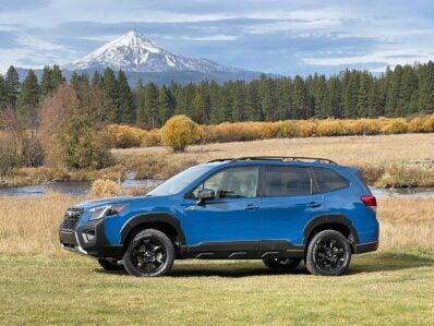 2022 Subaru Forester Wilderness - beauty shot