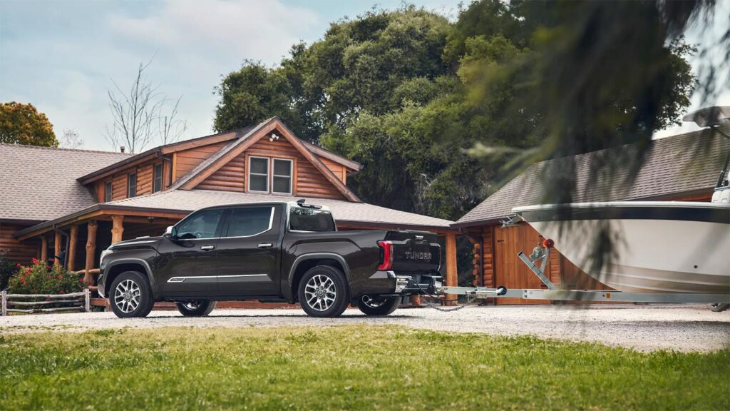 2022 Toyota Tundra 1794 - towing