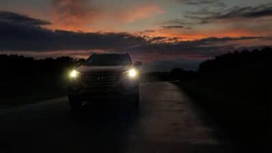 Hyundai headlights from IIHS